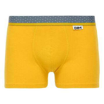 Boxer jaune moutarde Mix & Dots-DIM