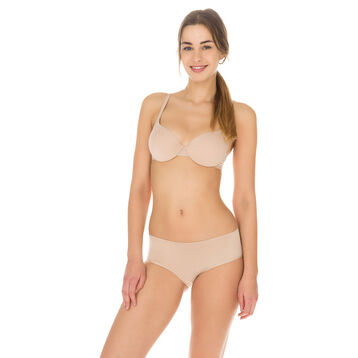 Invisi Fit push-up bra in barely beige, , DIM