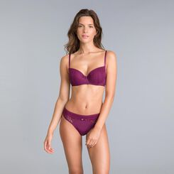 Daily Glam purple garnet briefs - DIM