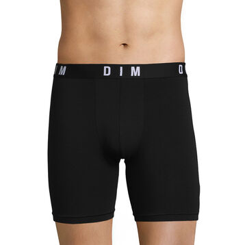 Black long trunks in modal and cotton - DIM Originals, , DIM