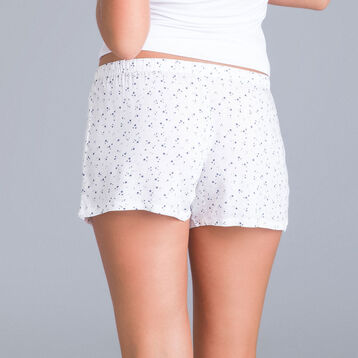 Soft & Cool pink mother-of-pearl pyjama shorts - DIM