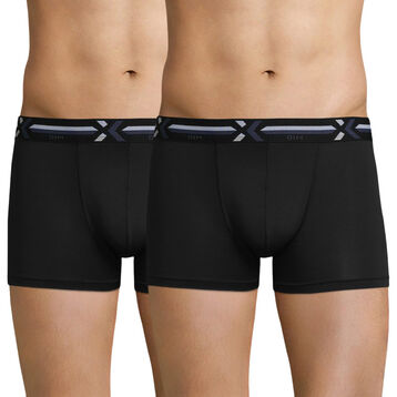 Lot de 2 boxers noirs - X-temp Active, , DIM