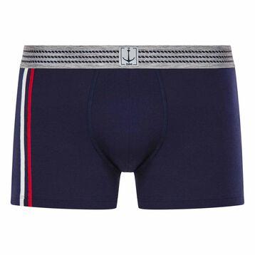 Blue trunks with striped waistband - Summer SEA DIM, , DIM