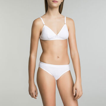 Soutien-gorge triangle blanc DIM Girl-DIM