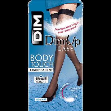 DIM Up noir Body Touch Voile 20D-DIM
