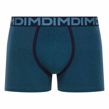 Blue trunks with black waistband - Dim Mix & Fancy, , DIM