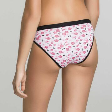 3 pack black and printed briefs for Girl - Box Japon, , DIM