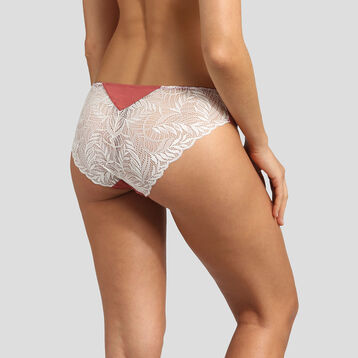 Dim Cosy Lady marsala modal cotton briefs , , DIM