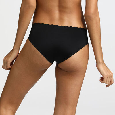 Beauty Lift black microfibre panties, , DIM