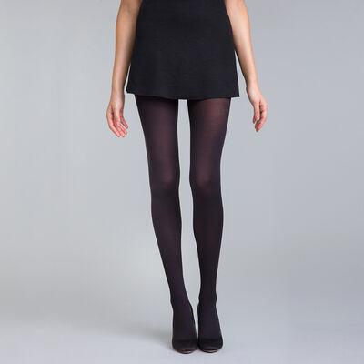 Collant noir Diam's jambes fuselées 45D, , DIM