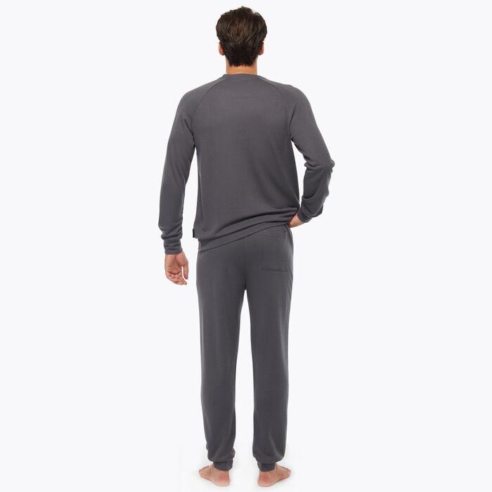 Ensemble de pyjama Gris Foncé pour Homme, , DIM