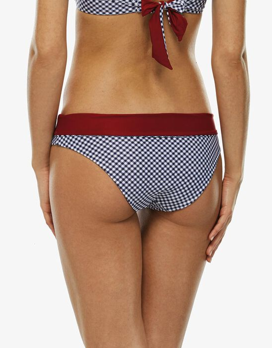 High-waisted reversible bikini bottom, , LOVABLE