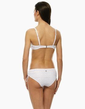 Haut de maillot de bain à armatures en dentelle blanche, , LOVABLE