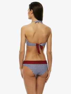 High-waisted reversible bikini bottom, , LOVABLE