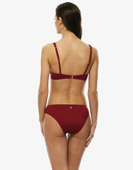 Red underwired bikini top , , LOVABLE