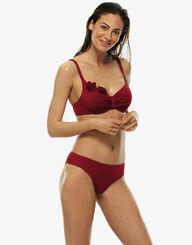 Haut de maillot de bain à armatures rouge, , LOVABLE