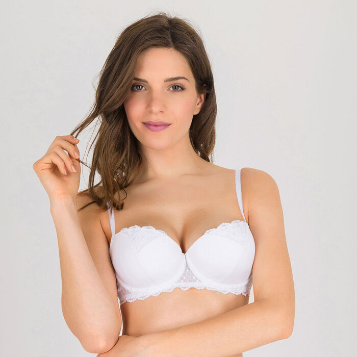 White push-up balconette bra - Modern Chic-WONDERBRA