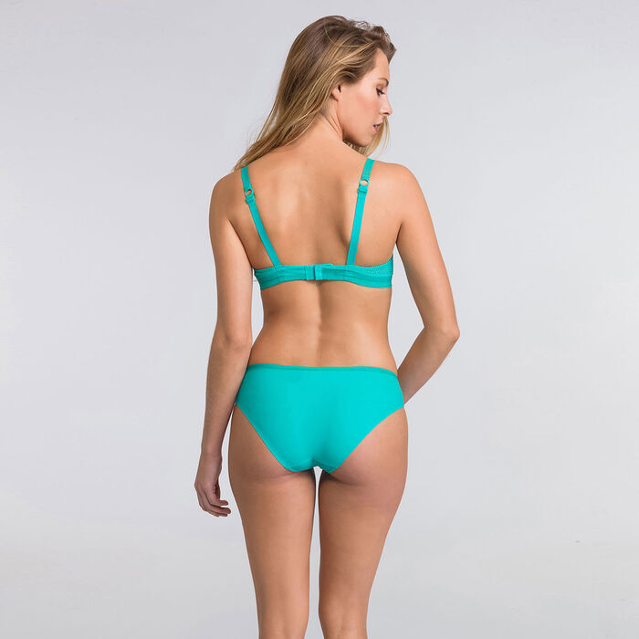 Turquoise blue wireless bra - Ultimate Silhouette Plain-WONDERBRA
