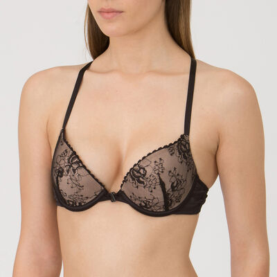 Soutien-gorge Push-up Gel Bra noir – Collection Luxe-WONDERBRA