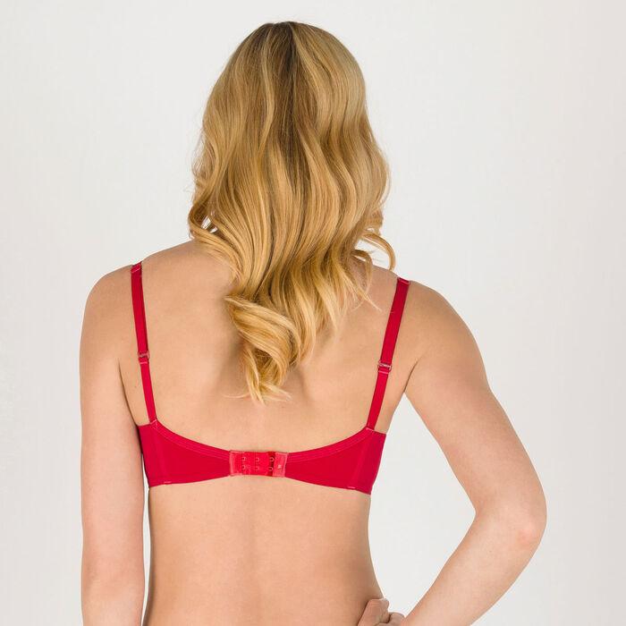 Dark red push-up T-shirt bra - Ultimate Silhouette Plain-WONDERBRA