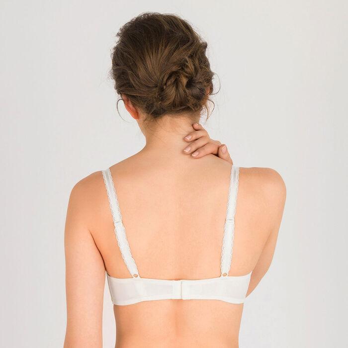 Ivory white Push-up Balconette Bra – Refined Glamour-WONDERBRA