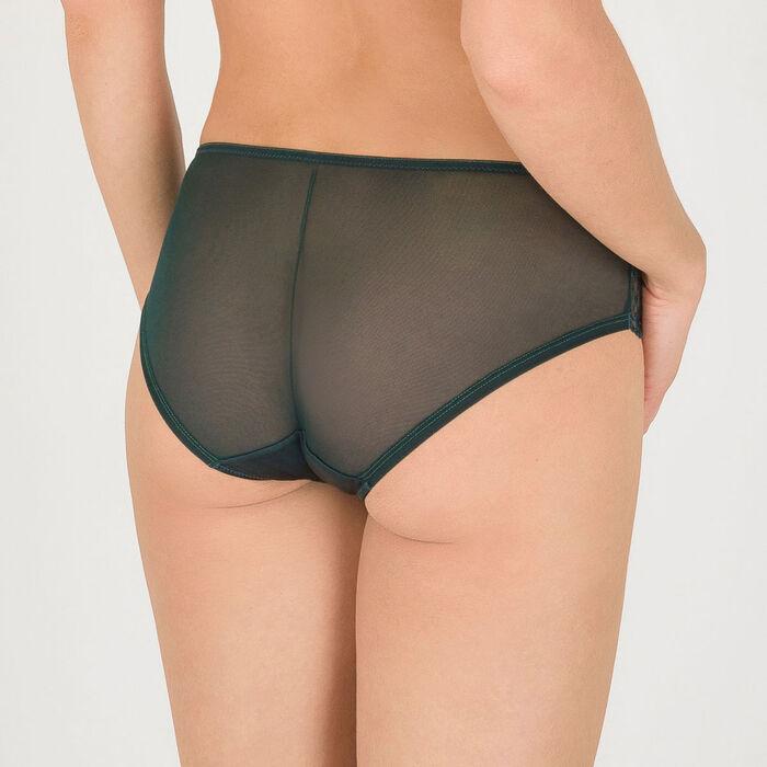 Dark green lace shorty - Modern Chic-WONDERBRA