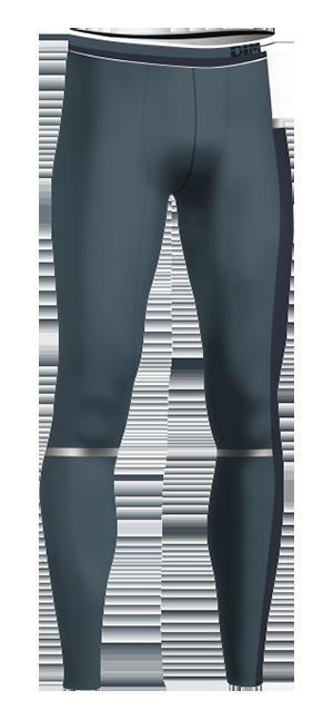 Legging gris bleu DIM sport