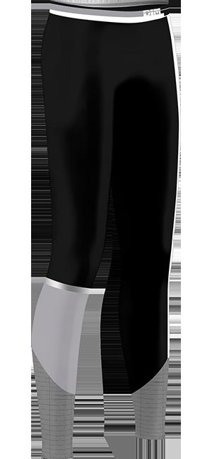 Legging long impact élevé noir DIM Sport