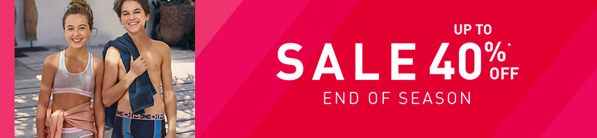 Sales up to 40%off