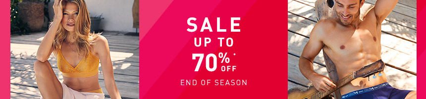 Sales up to 70%off
