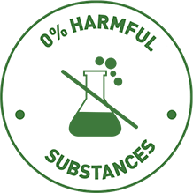0% Harmful substances
